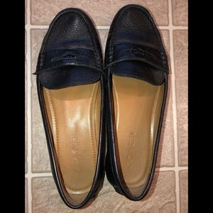 Black Coach Penny Loafers